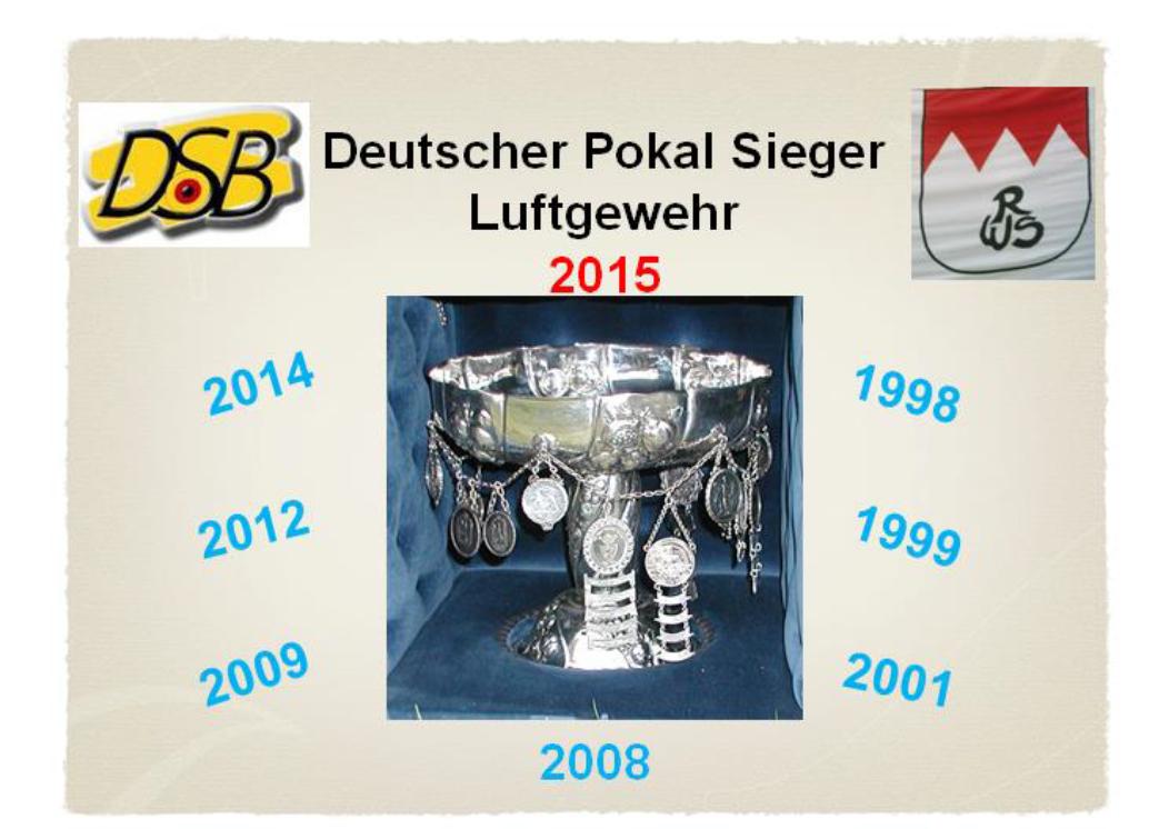 DSB Pokalsiege